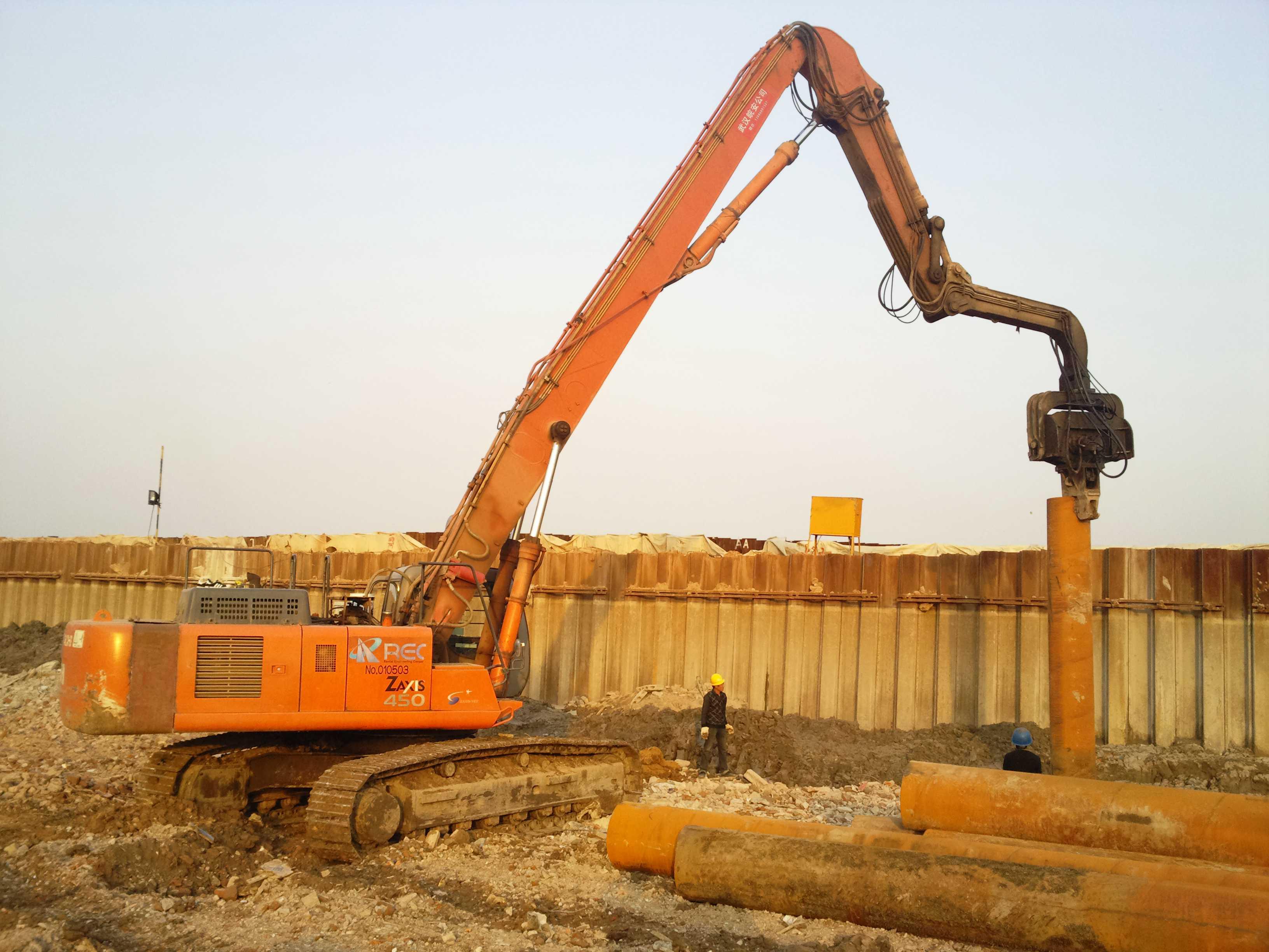 武汉拉森桩出租|拉森桩租赁|拉森钢板桩施工|钢板桩
