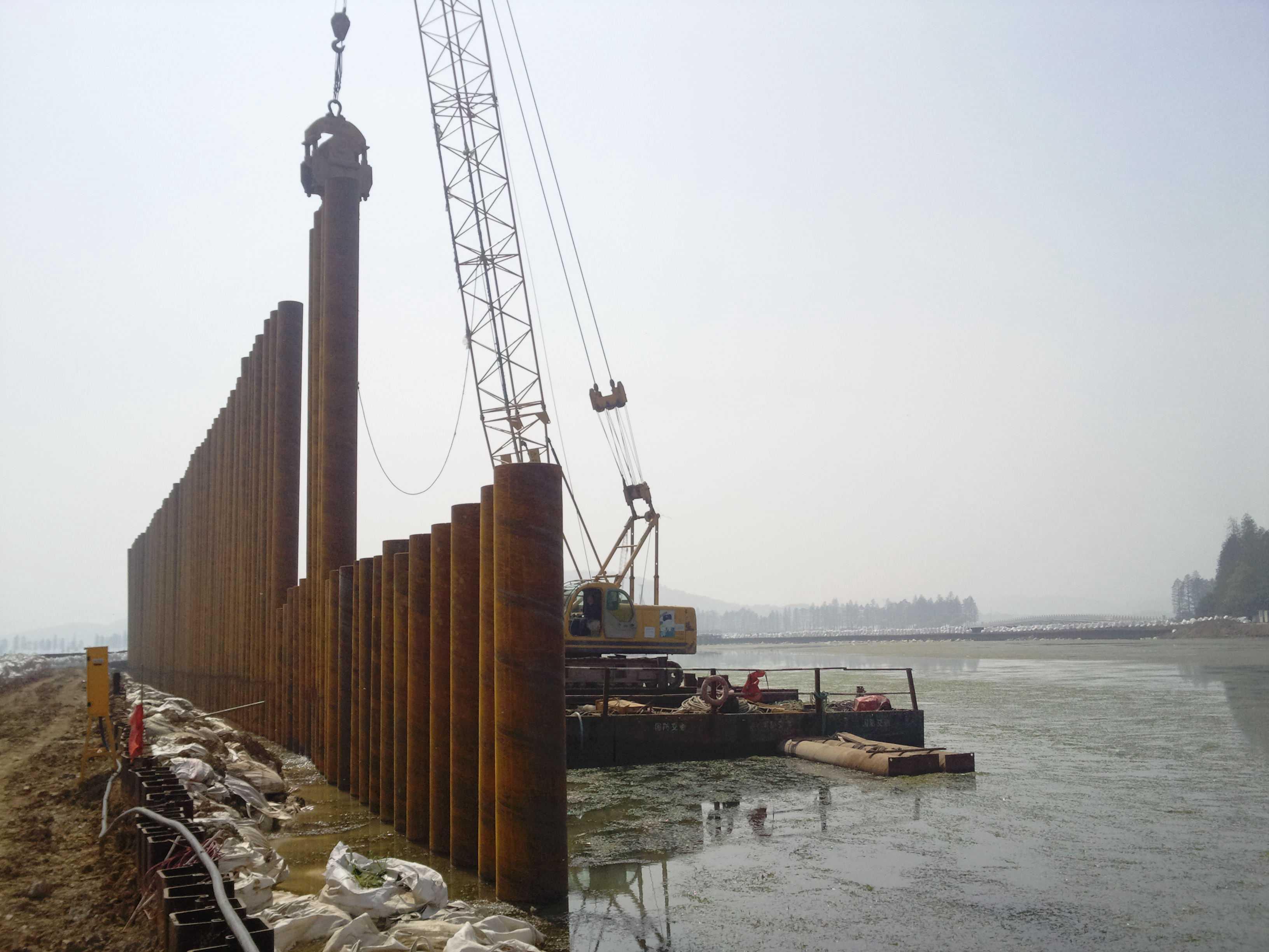 武汉拉森桩出租|拉森桩租赁|武汉拉森钢板桩施工|武汉